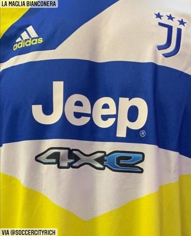 Juventus, ecco la nuova seconda maglia: e spunta anche la terza ...
