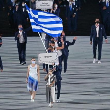Allo stadio Olimpico sfilano le squadre | Le foto