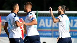 Luis Alberto protagonista, la Lazio ne fa 5 alla Triestina