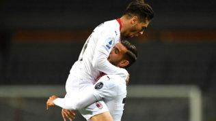 Milan, cinque gol al Modena:brilla Brahim Diaz, debutto rossonero per Ballo-Touré