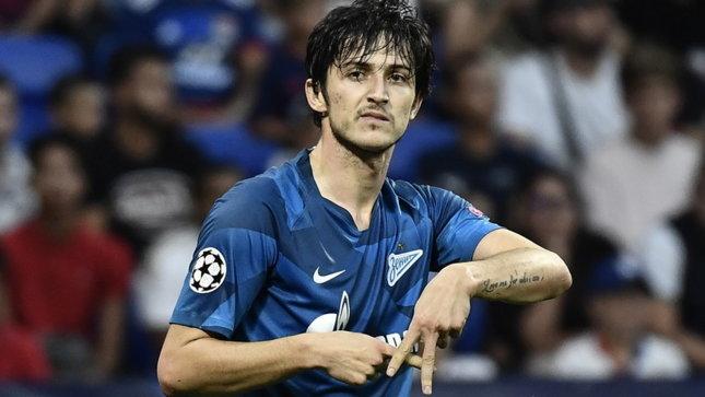"""Roma, Azmoun segna e lo Zenit scherza: """"Mourinho, ignoralo"""""""