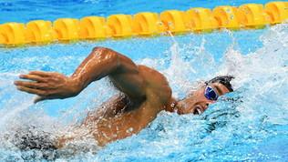 Nuoto: Paltrinieri in finale negli 800 stile libero, delusione Detti: è fuori