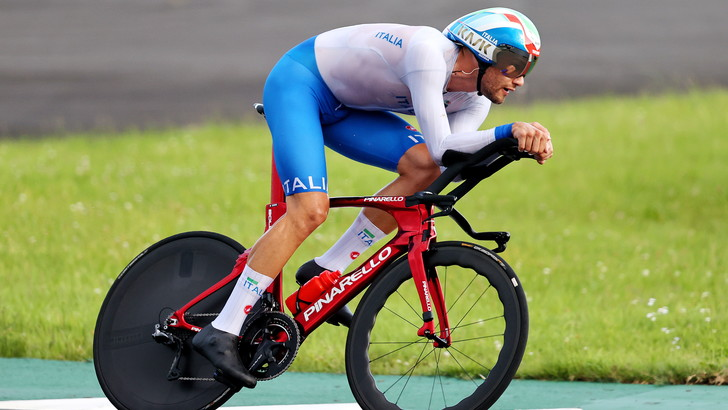 Ciclismo: Ganna chiude quinto, Roglic senza rivali | Tennis, Fognini-Giorgi out