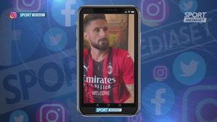 Giroud parla già italiano e milanese! Il video è virale