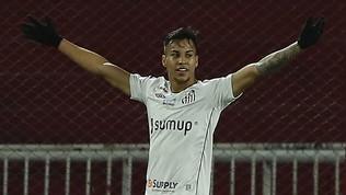 """Il Santos avvisa la Juve: """"Per Kaio Jorge servono 15 milioni di euro"""""""