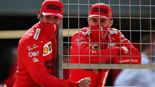 """Leclerc: """"Abbiamo iniziato bene"""". Sainz spera nella pioggia: """"Può aiutarci"""""""