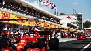 """Leclerc: """"Peccato, ci proverò"""". Sainz sconsolato: """"Sarà dura"""""""