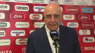 """Galliani: """"Monza ancora più forte, vogliamo la Serie A"""""""