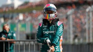 Vettel pro Lgbt: casco di protesta in Ungheria