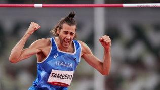 Gimbo nella storia! Medaglia d'oro nel salto in alto insieme aBarshim