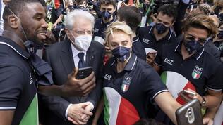 """Il presidente Mattarella celebra Jacobs e Tamberi: """"Grande apprezzamento e soddisfazione"""""""