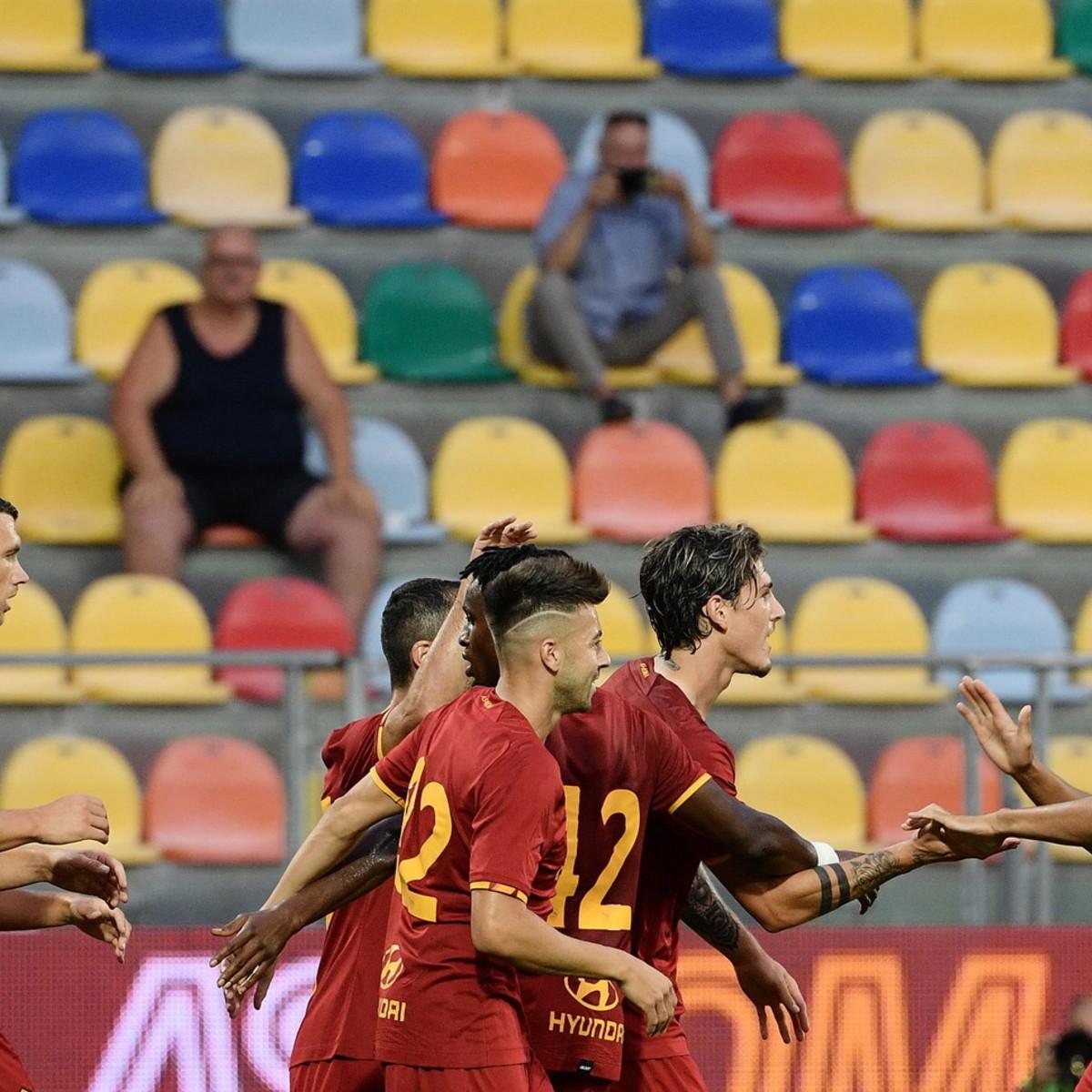 Zanioloe Dzeko ancora in gol, la Roma supera in rimonta la Belenenses