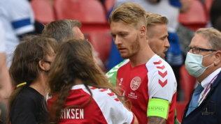 """Malore Eriksen, l'arbitro Taylor: """"Kjaer e i medici i veri eroi"""""""