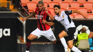 Un buon Milan cade ai rigori: Krunic sbaglia, il Valencia vince 5-3