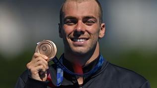 Paltrinieri fa l'impresa nei 10 km di fondo: bronzo!