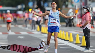 L'impresa di Massimo Stano nella marcia 20 km maschile