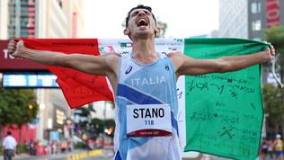 Eroico Stano: vince la marcia 20 km, settimo oro azzurro!