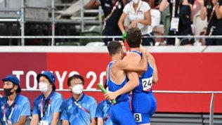 Tokyo 2020, atletica: anche la 4x100 è d'oro!