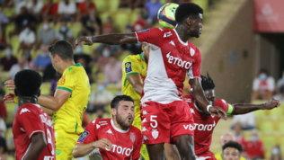 Il Monaco parte piano: solo un pareggio interno contro il Nantes