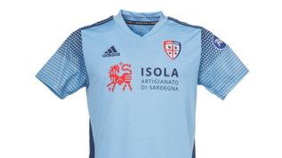 Cagliari, la terza maglia èceleste: omaggio all'Uruguay