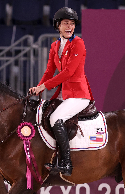 Jessica Springsteen,&nbsp;figlia del mitico Boss Bruce, ha coronato il suo sogno olimpico con una medaglia d&#39;argento. La campionessa d&#39;equitazione,&nbsp;eliminata dal concorso individuale, si &egrave; rifatta grazie alla squadra Usa, che ha sfiorato la vittoria dietro gli inarrivabili cavalieri&nbsp;svedesi.&nbsp;<br /><br />