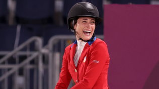 Jessica Springsteen Boss  dell'equitazione: argento nel salto a squadre