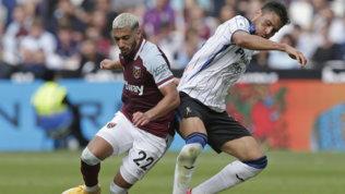 Atalanta sconfittaa Londra:West Hama segno due volte