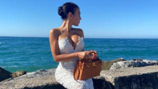 Georgina Rodriguezillumina Marbellacon le sue forme