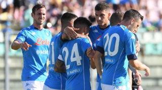 Il Napoli non sbaglia un colpo: Insigne ed Elmas stendono l'Ascoli