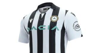 Udinese, una nuova divisa elegante col... gessato