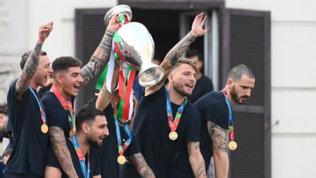 """Euro 2020, festa continua per l'Italia: """"Estate incredibile"""""""