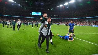 """De Rossi, dall'esultanza pazza di Wembley all'addio all'azzurro: """"Voglio allenare"""""""