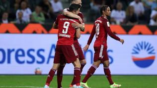 Lewasegna sempre, ma il Bayern riparte con un pari contro il Gladbach