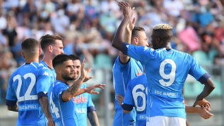 Napoli, quattro gol al Pescara: Insigne segna e regala un assist