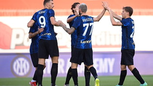 È subito l'Inter di Dzeko: gol al debutto contro la Dinamo Kiev