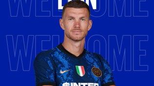 Inter, ufficiali Dzeko (cherinuncia a 200.000 euro) eDumfries