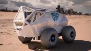Beach Bot, il robot pulisci spiaggia