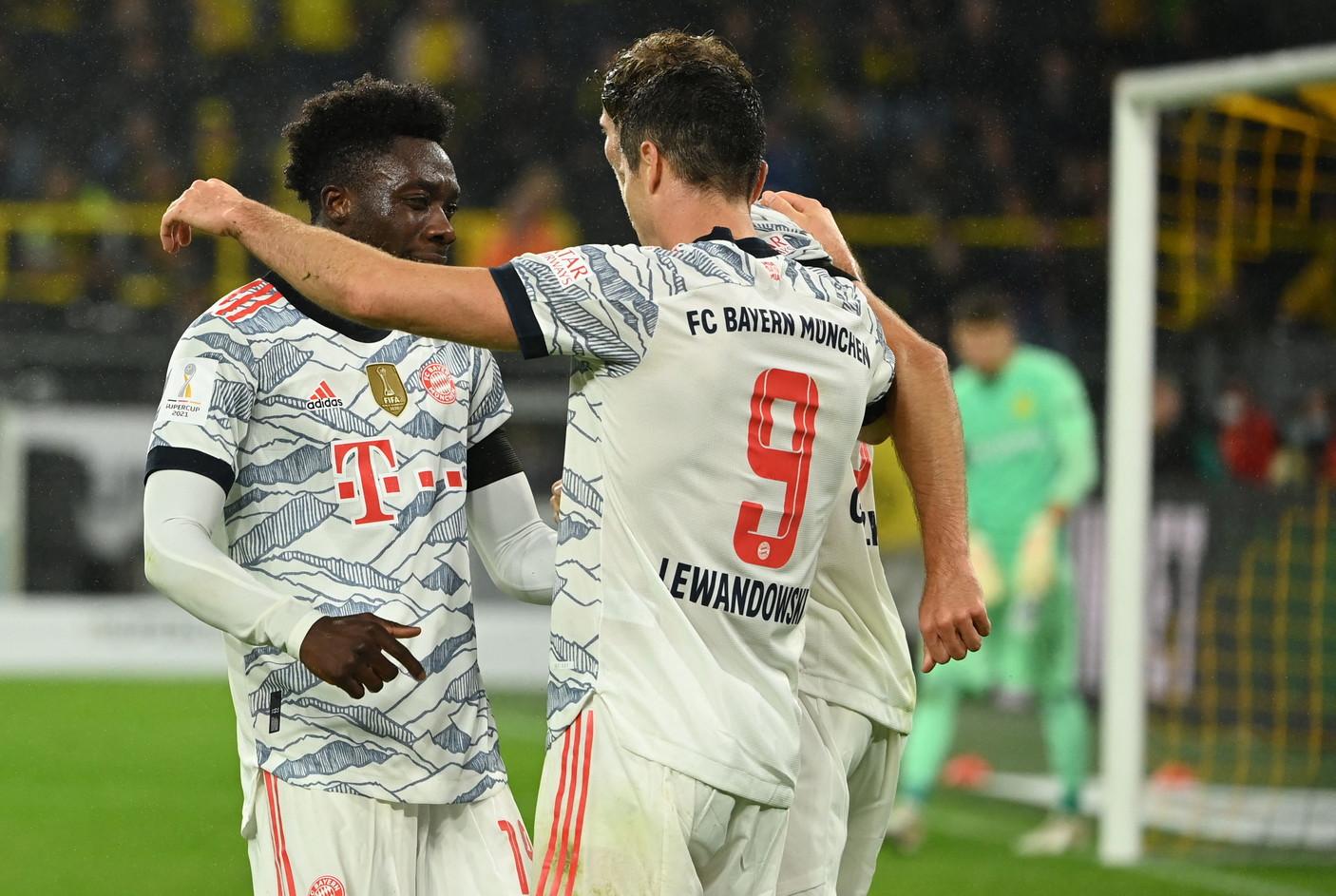 Le migliori foto di Borussia Dortmund-Bayern Monaco 1-3, finale della Supercoppa di Germania.<br /><br />