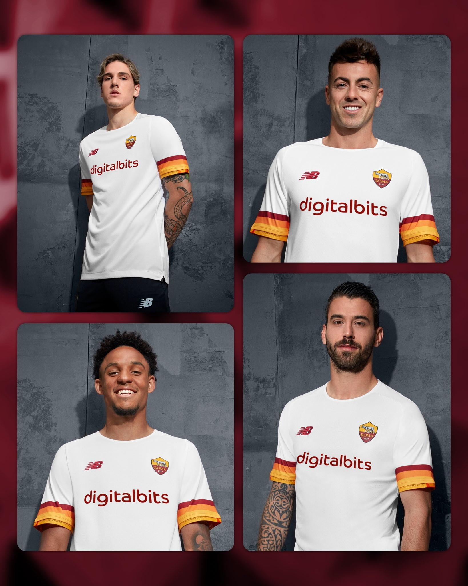 Roma: seconda maglia