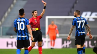 """Calvarese e l'ultima partita da incubo: """"Juve-Inter? Ho arbitrato male"""""""
