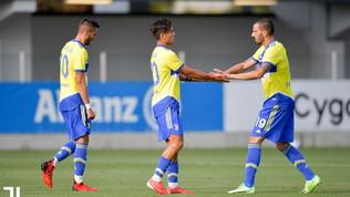 Juve, ok l'ultima amichevole senza Ronaldo: 3-0 all'Under 23