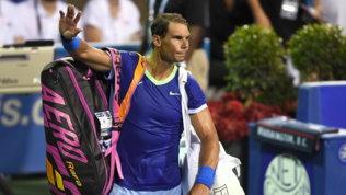 """L'annuncio di Nadal: """"Il mio 2021 finisce qui"""". Salta anche gli US Open"""