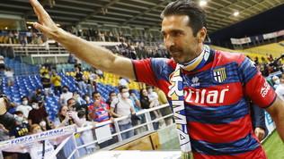 Buffon, esordio amaro: il Parma rimonta, ma poi si fa raggiungere a Frosinone