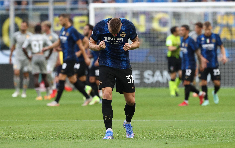 I migliori scatti di Inter-Genoa 4-0, prima giornata del campionato di Serie A.<br /><br />