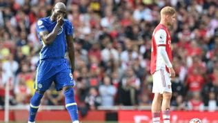 Lukaku subito in gol, derby al Chelsea | Frenata United, Spurs di rigore