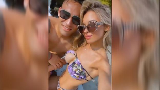 Agustina Gandolfo, fidanzata di Lautaro Martinez, su Instagram fa gli auguri - anche per conto della piccola Nina - all&#39;attaccante dell&#39;Inter che compie 24 anni: &quot;Buon compleanno, amore della mia vita. Vorrei solo che tu fossi felice. Grazie per essere il miglior pap&agrave; del mondo. Ti vogliamo bene&quot;.<br /><br />
