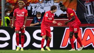 Champions, Dinamo Zagabria-Sheriff e Brondby-Salisburgosu Infinity