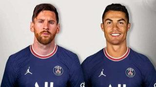 """Psg, Al-Thani avvicina Messi a CR7 e scatena i social: """"Forse...?"""""""