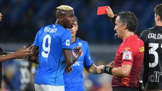 """Squalifica Osimhen, il Napoli farà ricorso: """"Pronti alla battaglia"""""""