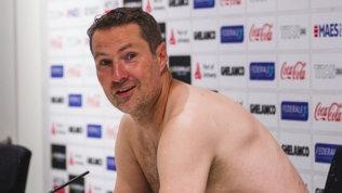 Nainggolan in Europa League, il tecnico arriva nudo in conferenza…